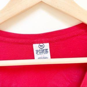 """PINK Victoria's Secret Tops - PINK """"Love pink"""" graphic tee S"""